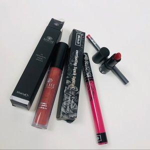 Lip bundle kat von d, Sephora, bite beauty, adesse